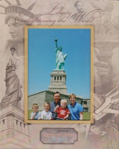 Statue of Liberty - Family