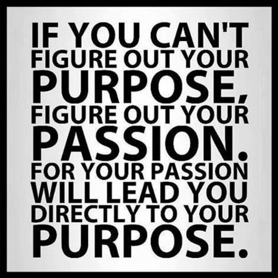 Purpose and Passion Pin